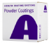 Axalta BS4800 00 E 55 White Polyester 30% Matt Powder Coating (20kg Box)